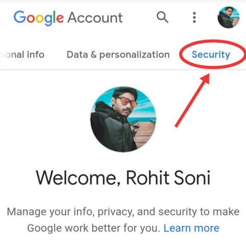 How to log out my gmail account from other phones?
