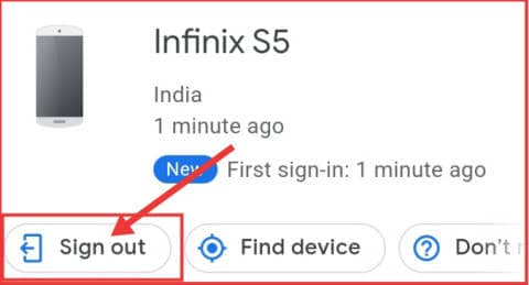 Logout gmail all other devices